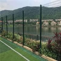 园林防护网 车库绿篱隔离网 惠州桃型柱护栏生产厂家