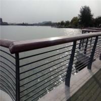 河边不锈钢扶手 深圳桥梁防撞护栏 东莞隔离栏杆厂家