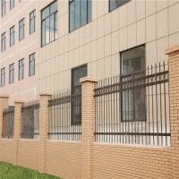 工厂围墙护栏 深圳锌钢铁艺栅栏厂家 服务区围栏