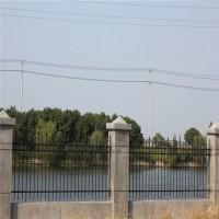 工厂围墙钢管护栏 深圳服务区围栏生产厂家 锌钢铁艺栅栏