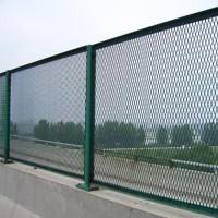 菱形孔钢板网 深圳桥梁防抛网生产厂家 双圈护栏