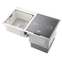 家用智能水槽嵌入式洗碗机高温消毒超声波蔬果清洗刷碗机