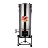 30L40L大容量商用无渣免虑豆浆机渣浆分离打浆机