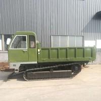 水利工程运输车橡胶履带式旋耕机