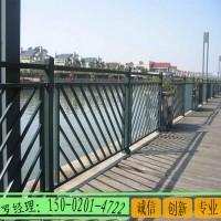 深圳河道不锈钢护栏 景观灯光栏杆 桥梁304复合管护栏
